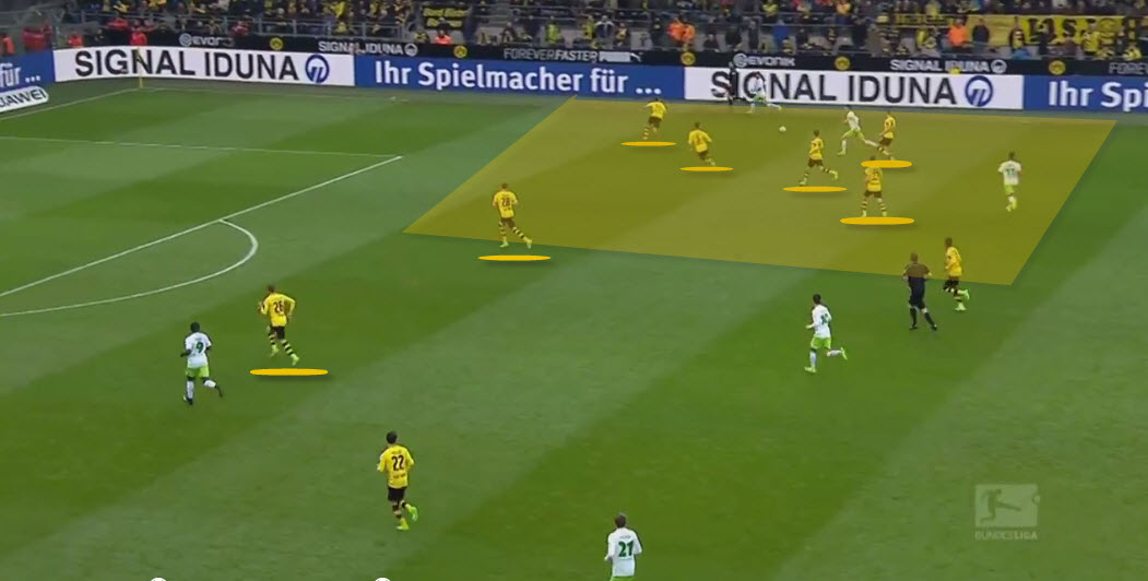 Dortmund press wide areas