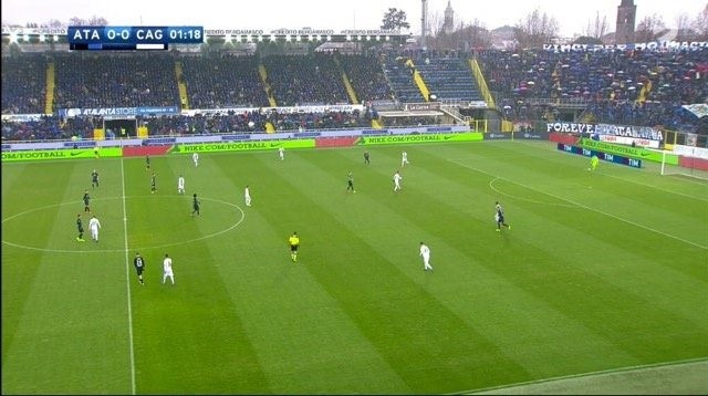 Atalanta defensive shape